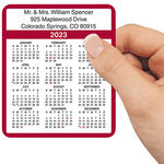 Personalized Self Stick Calendars - Set Of 100