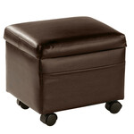 Flip Top Small Storage Ottoman by OakRidge™ Accents