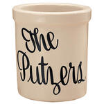 Personalized Stoneware Crock - 1 Qt