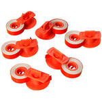 Lift Off Correction Tapes For Electronic Typewriter - Set Of 6