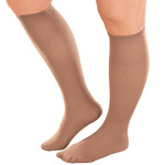 Women's Plus Size Knee High Stockings - Pack Of 6