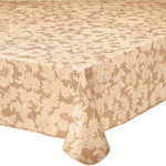 Bordeaux Floral Vinyl Tablecover