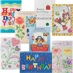 Children's Birthday Cards Value Pack of 24