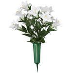 Easter Lily Memorial Arrangement by OakRidge™