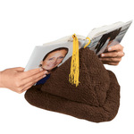 Sherpa Book Pillow