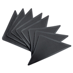 Corner Carpet Grips, Set of 8