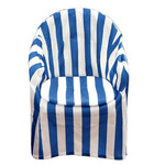 Striped Patio Chair Cover with Cushion