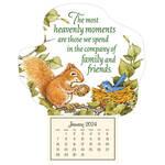 Mini Heavenly Friends Magnetic Calendar