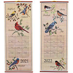 Songbirds Scroll Calendar
