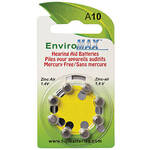 Fuji EnviroMax A10 Hearing Aid Batteries - 8-Pack