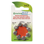 Fuji EnviroMax A13 Hearing Aid Batteries - 8-Pack