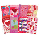 Valentine's Day Card Assortment, Set of 24