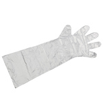 Long Arm Disposable Cleaning Gloves, Set of 50