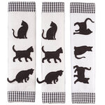 Cat Appliance Handle Covers, Set of 3