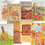 Assorted Thanksgiving Cards, Set of 24