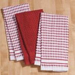 Terry Kitchen Towels, Set of 3