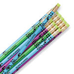 Personalized Pretty Peacock Pencils, Set of 12