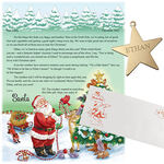 Personalized Christmas Letter from Santa and Ornament