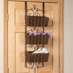 Over the Door Wicker & Metal Baskets by OakRidge™