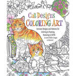 Adult Cat Designs Coloring Book
