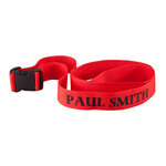 Personalized Red Luggage Strap