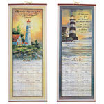 Inspirational Lighthouse Scroll Calendar