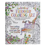 Adult Book of Friendship Coloring Book