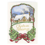 Personalized Christmas Blessings Card Set of 20