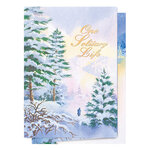 Personalized One Solitary Life Christmas Card Set of 20