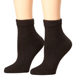 Healthy Steps™ 3 Pack Quarter Cut Extra Plush Diabetic Socks