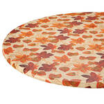 Autumn Leaves Elasticized Vinyl Table Cover
