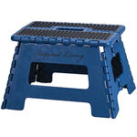 Blue 9 Inch Folding Step Stool