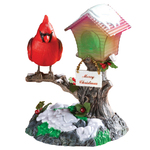 Singing Cardinal Table Top Lantern