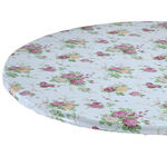 Vintage Floral Vinyl Elasticized Tablecovers by Home-Style Kitchen™
