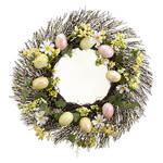Easter Eggs and Daisy Grapevine Wreath