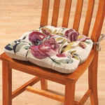 Reversible Blossom Chair Pad