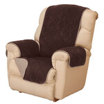 Reversible Plush to Suede Waterproof Recliner Protector by OakRidge™