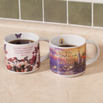 Christian Verse Coffee Cups, Set of 2