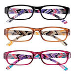 3 Pack Women's Reading Glass