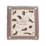 Playful Cat Tapestry Throw by OakRidge™