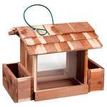 Woodlore® Cedar Bird Feeder with Planters