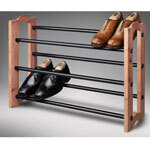 Woodlore® Expandable Cedar Shoe Rack