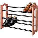 Woodlore® Expandable Cedar Shoe Rack