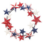 Metal American Barn Star Wreath by Fox River Creations™