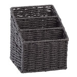 Wicker Letter Sorting Basket