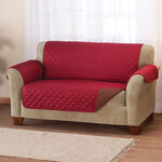 Reversible Microfiber Sofa Cover
