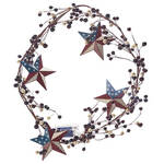 American Barn Star Berry Garland