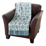 Orleans Collection Ultra Plush Fringe Throw