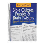 Large Print Bible Puzzle Book