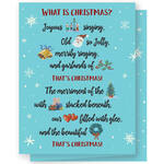 Personalized What is Christmas Cards - Set of 20